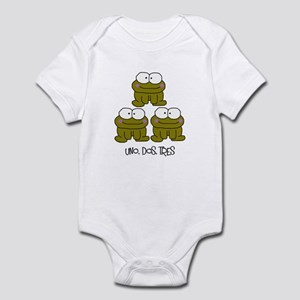 Uno, Dos, Tres RIBBITS! Infant Bodysuit