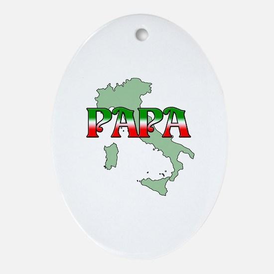 Papa Oval Ornament