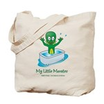 Lagoony the Little Monster Tote Bag