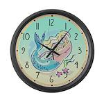 Fair Mermaid Giant Clock