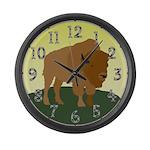Buffalo Giant Clock