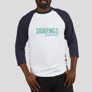Sigh7ings UFO Slogan Baseball Jersey
