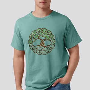 Celtic Tree of Life with Leaves T-Shirt