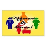 """Different Is Normal"" Sticker 2"