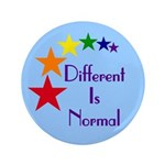 """Different Is Normal"" Big Button 3"