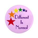 """Different Is Normal"" Big Button 2"