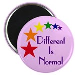 "Ten ""Different Is Normal"" Magnets"