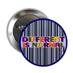 "Ten ""Different Is Normal"" Buttons"