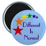 """Different Is Normal"" Magnet 3"