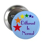 """Different Is Normal"" Button 3"