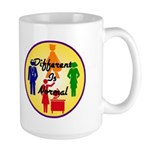 """Different Is Normal"" 15 Ounce Mug 4"