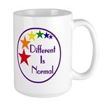 """Different Is Normal"" 15 Ounce Mug 1"