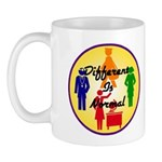 """Different Is Normal"" 11 Ounce Mug 4"