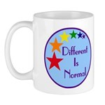 """Different Is Normal"" 11 Ounce Mug 3"