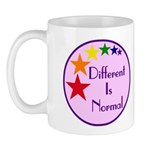 """Different Is Normal"" 11 Ounce Mug 2"