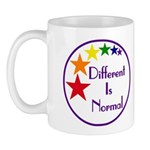 """Different Is Normal"" 11 Ounce Mug 1"