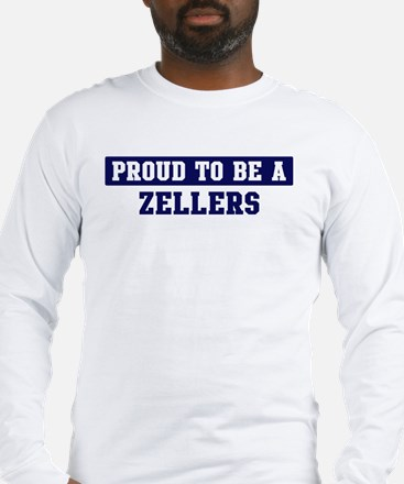 Proud to be Zellers Long Sleeve T-Shirt