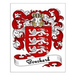 Bouchard Family Crest Small Poster