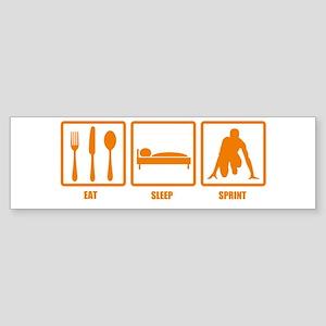Eat Sleep Sprint Bumper Sticker