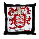 Bouchard Family Crest Throw Pillow