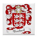 Bouchard Family Crest Tile Coaster