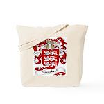 Bouchard Family Crest Tote Bag