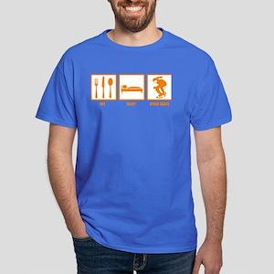 Eat Sleep Speed Skate Dark T-Shirt