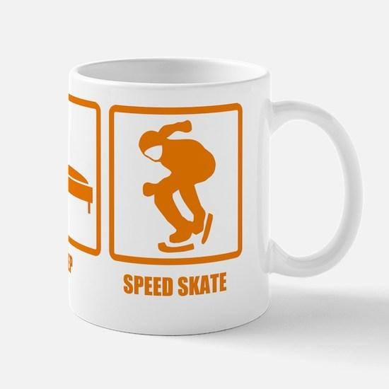 Eat Sleep Speed Skate Mug
