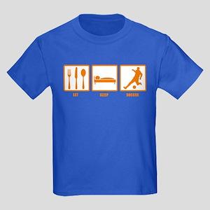 Eat Sleep Soccer Kids Dark T-Shirt