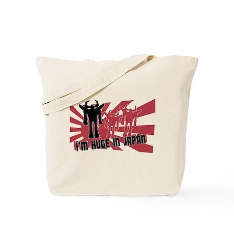 Im Huge in Japan Robot Tote Bag