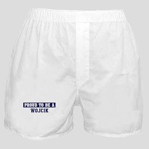 Proud to be Wojcik Boxer Shorts