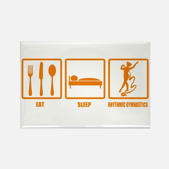 Eat Sleep Rhythmic Gymnastics Rectangle Magnet