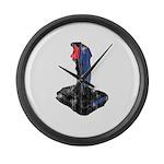 Worn Retro Joystick Giant Clock