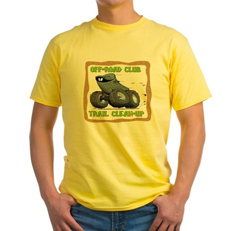 Trail Clean-up Yellow T-Shirt