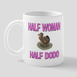 Half Woman Half Dodo Mug