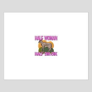 Half Woman Half Dik-Dik Small Poster