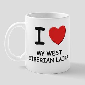 I love MY WEST SIBERIAN LAIKA Mug