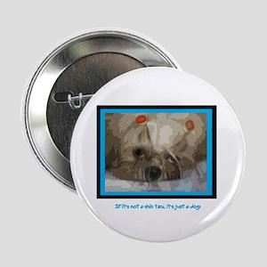 """Shih Tzu Pop Art Cappuccino 2.25"""" Button (10 pack)"""