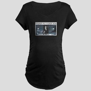 Wanna Go For A Ride Maternity Dark T-Shirt