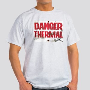 Danger Thermal (Hot) Ash Grey T-Shirt