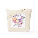 Guangchang China Map Tote Bag