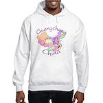 Guangchang China Map Hooded Sweatshirt