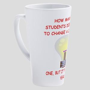 grad student 17 oz Latte Mug