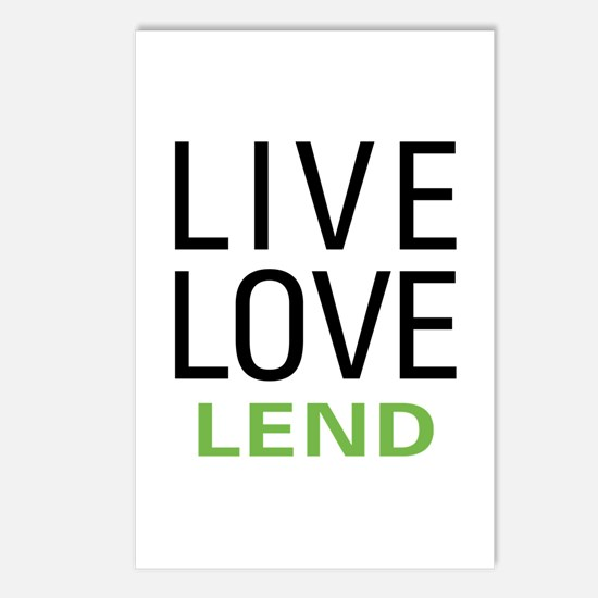 Live Love Lend Postcards (Package of 8)