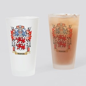 Tiernan Coat of Arms - Family Crest Drinking Glass