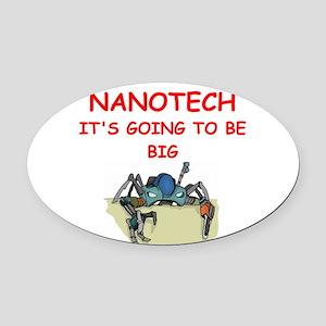 NANOTECH Oval Car Magnet