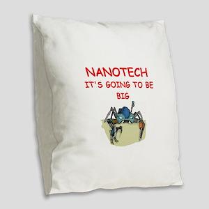 NANOTECH Burlap Throw Pillow