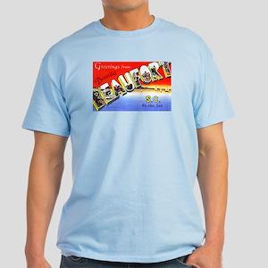 Beaufort South Carolina Greetings Light T-Shirt