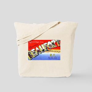 Beaufort South Carolina Greetings Tote Bag