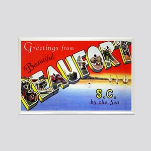 Beaufort South Carolina Greetings Rectangle Magnet
